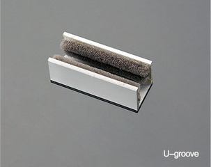U Groove For Frameless Glass Door